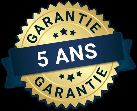 Garantie de 5ans
